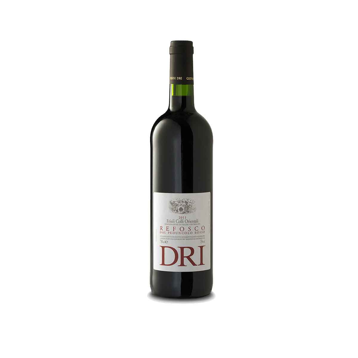 Friuli Colli Orientali Refosco dal Peduncolo Rosso -Dri Il Roncat